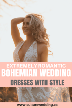 Romantic bohemian wedding dresses. Bohemian wedding dresses. Bohemian wedding dress with lace. Bohemian wedding that is backless. Romantic Bohemian wedding dress. Long sleeved boho wedding dress. Boho wedding dress. Bohemian romance. Simple bohemian wedding dress #bohodress #bohoweddingdress #Bohemianwedding #bohemianweddingdress
