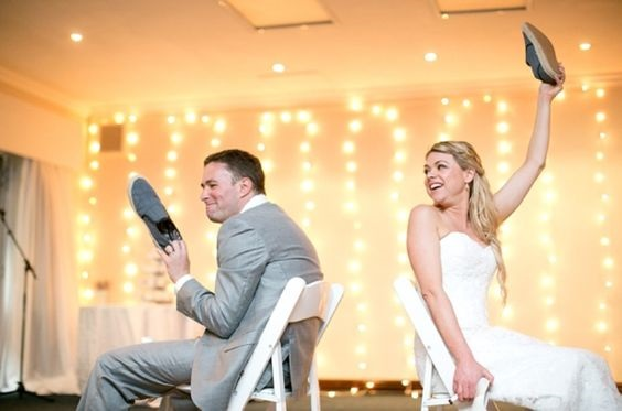 wedding game for bride and groom. Wedding shoe game questions and answers. Are you looking for low budget wedding ideas for your reception? Then you might want to read this. We have come up with a way for you to save lots of money when planning a wedding on a budget. If you are a DIY Bride and you are looking for affordable wedding ideas, be sure to check out our budget-friendly tips. Enjoy our DIY low budget wedding ideas #budgetwedding #weddingideas #weddingplanning