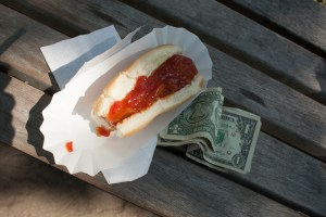 Coney Island Hot Dog by Christine Callahan.