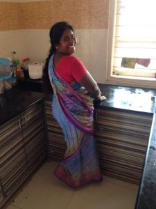 maid at indian home