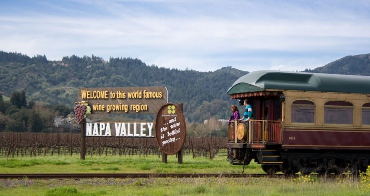 Napa Valley Wine (Photo from winetrain.com)