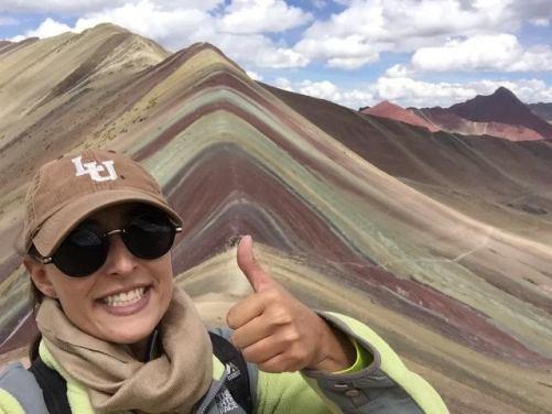 Jessica getting local in Peru