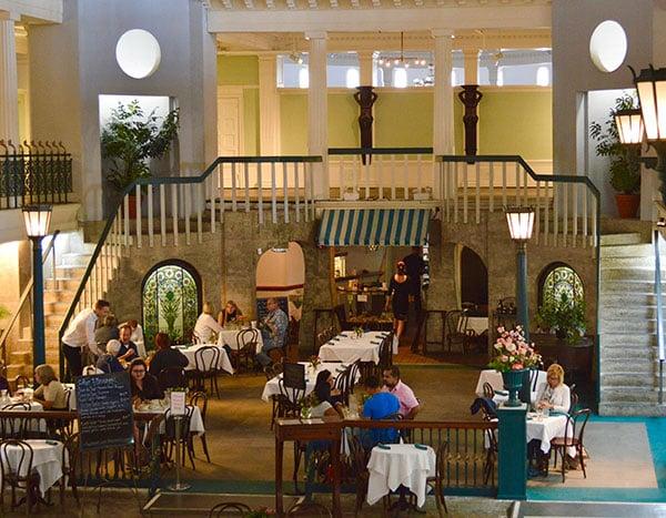cafe alcazar in St. Augustine, Florida