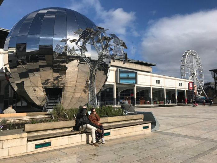 Millennium Square Bristol by Heather Cowper