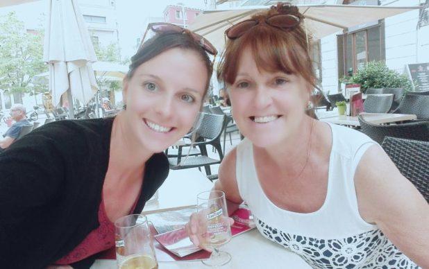 Nikki and her Mum