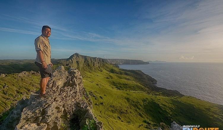 Ferdz at Itbayat Rapang Cliffs and Stone Bell