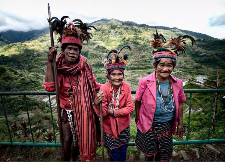 The old Igorots in Banaue (Photo credits: noypicollections.blogspot.com)