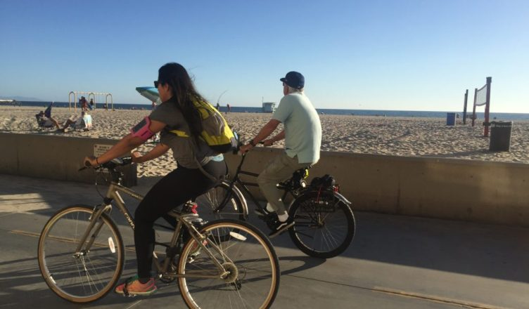 biking around California