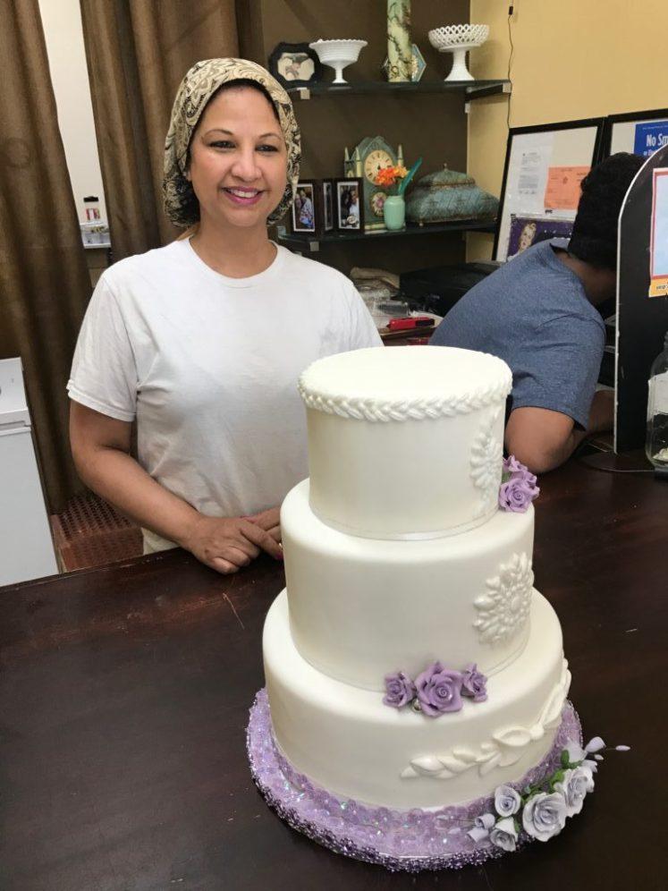 Mavis from Sweet May's Bakery on Goodfellas tour