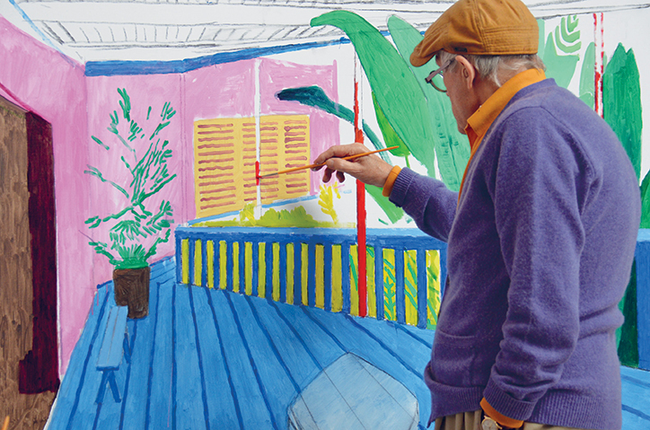 A Yorkshireman in London: David Hockney at the Tate Britain