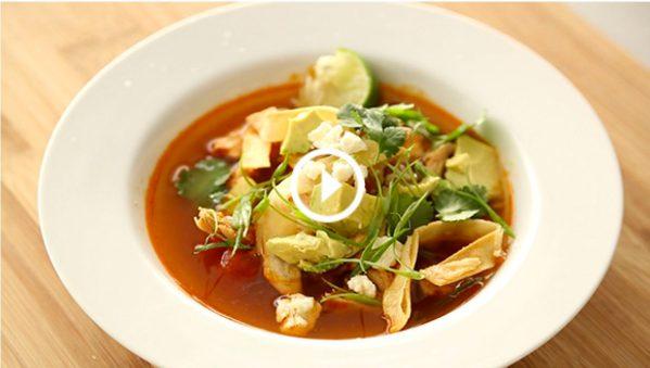 Instant spice! Chicken Tortilla Soup