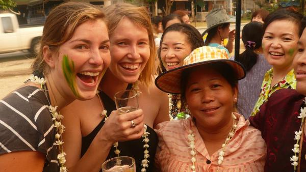 Emotional/ mental benefits of friends around the world