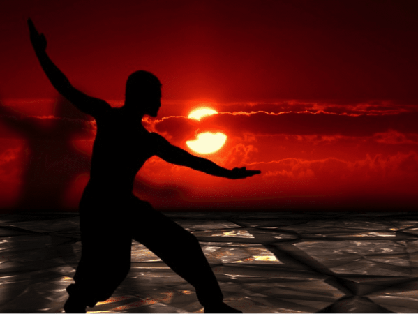 The soothing movement of Tai Chi