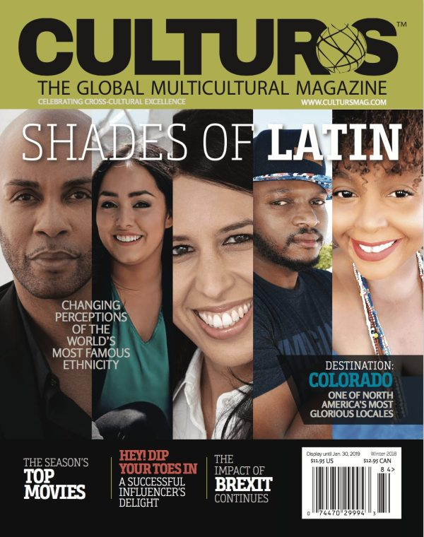 SHADES OF LATIN – Culturs Print Winter Issue on News stands now!