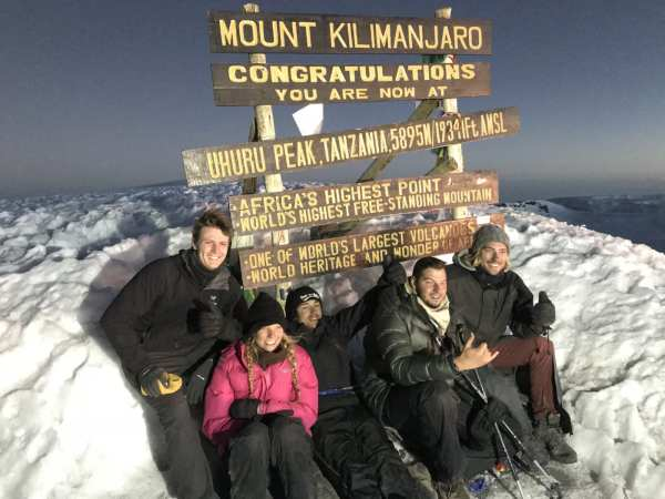 Yuujou finalist, Joey, summits Mount Kilimanjaro.