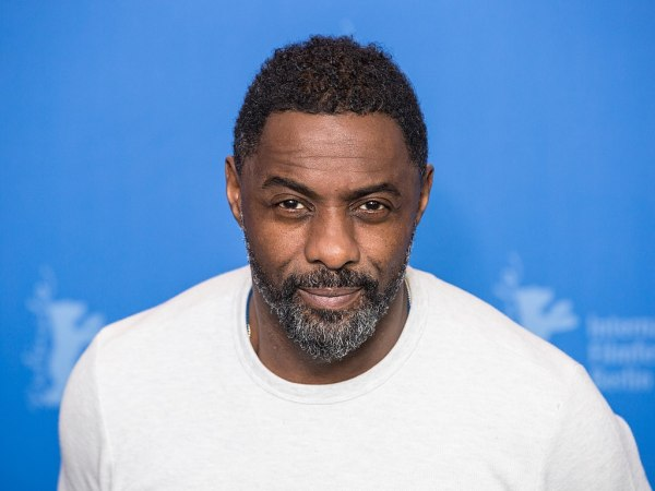 Idris Elba at the Berlinale February 22, 2018.