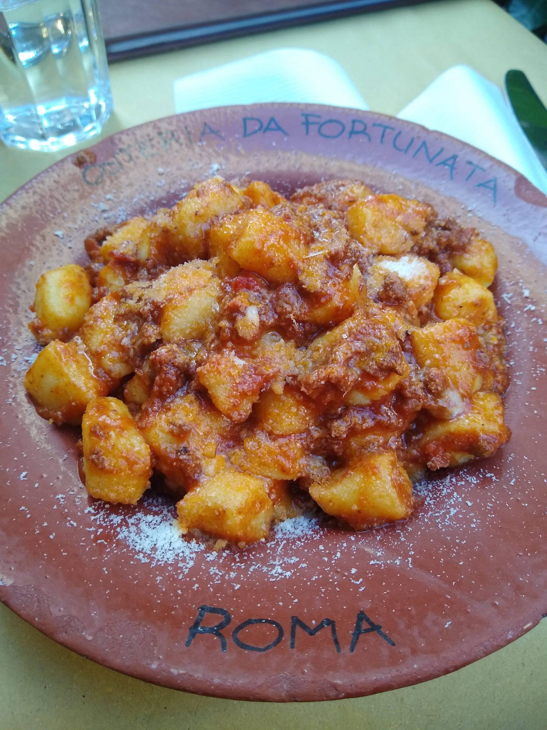 Gnocchi in Italy