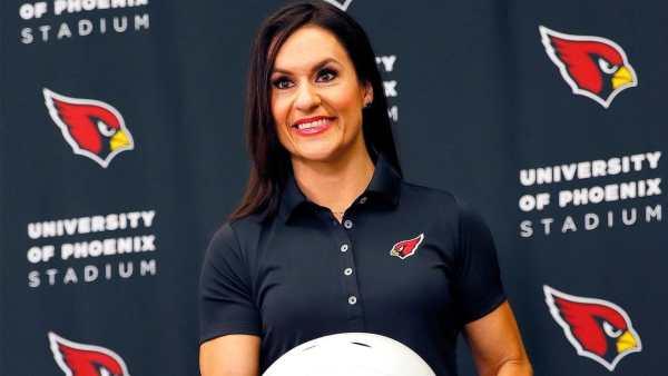 Jen Welter (Image credit-Arizona Cardinals)