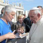 Paus Franciscus I: hij nam voor mij alle tijd en luisterde naar mijn verhaal