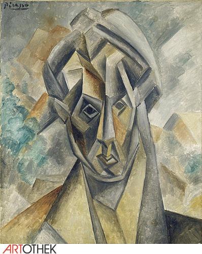 Picasso, Fernande Olivier, Stadelmuseum Frankfurt,