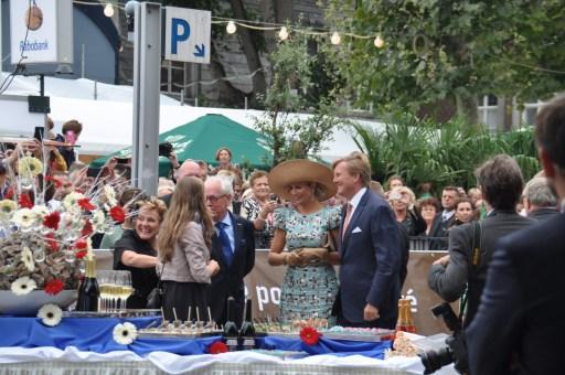 Preuvenemint Maastricht n 2014 met koning Wiilem-Alexander en koningin Máxima