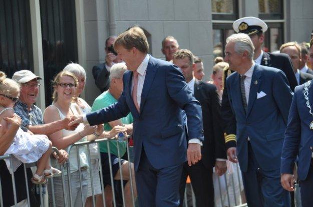 Warm onthaal voor koning Willem-Alexander