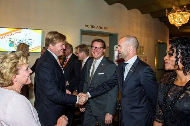 Comite 200 jaar Koninkrijk verwelkomt Koning Wilolem-Alexander voor een avond Eenheid in verscheidenheid