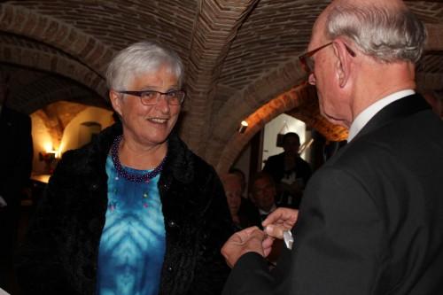 Oranjestad Delft 5 juli: installatie als lid en penningmeester van de Afdeling Delft van de Orde van den Prince