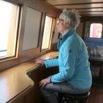 Willem-Barentsz: zeilende veerdienst tussen Enkhuizen en Urk, impressie