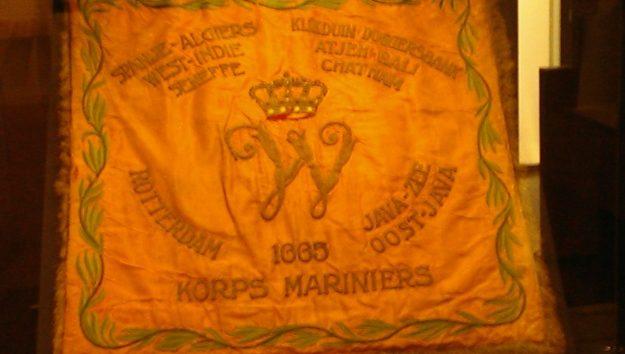 Mariniersmuseum; vaandel uit 1665