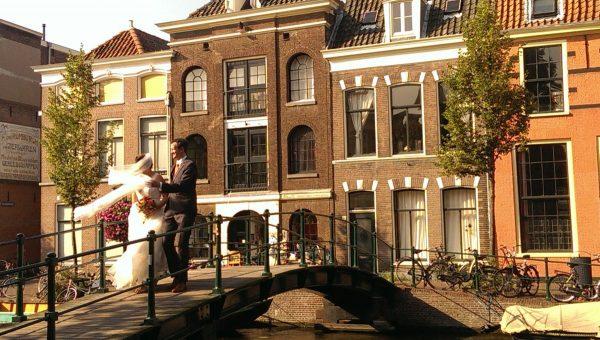 Leiden; een stad om verliefd op te worden.