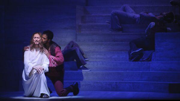 Ted Neeley als Jesus Christ en Judas, foto Margot de Heide
