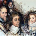 Gouden Eeuw: prins Maurits en Willem Lodewijk naar de Dordtse Synode