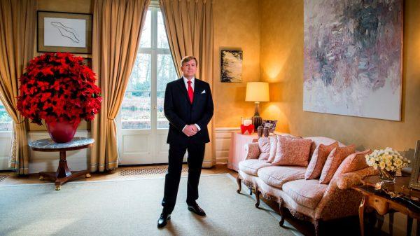 kersttoespraak 2016 koning Willem-Alexander ,copyright: RVD, fotograaf: Frank van Beek