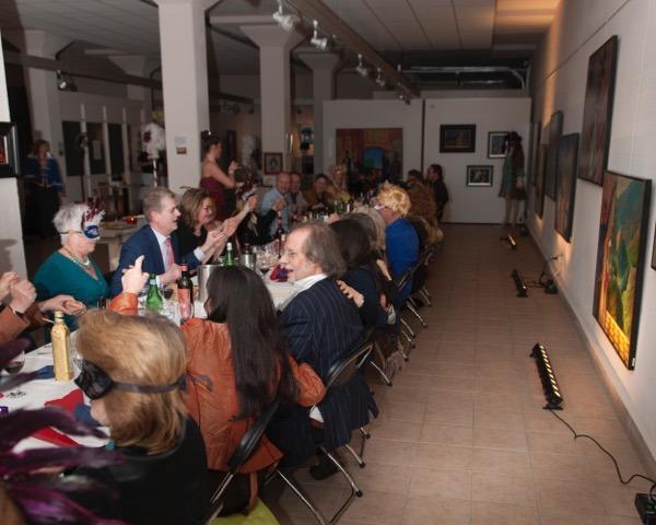 Carnavale dell'Arte, 25 februari 2017, Galerie Sous-Terre Aalsmeer