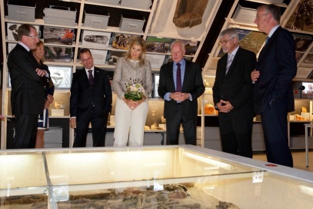 Op 23 augustus 2011 opende prinses Maxima in Archeon het Archeologiehuis Zuid-Holland. Ze bewonderde het Romeinse graf van Wassenaar