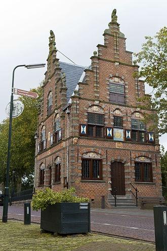 Graft-De Rijp, gemeentehuis Graft