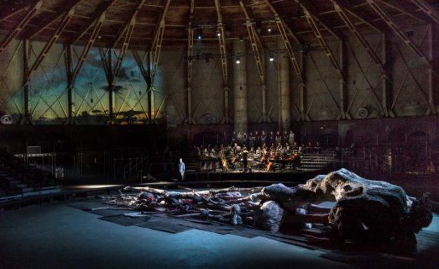 Mariavespers, Monteverdi, Nationaal Operakoor, 3 juni 2017, Gashouder Amsterdam