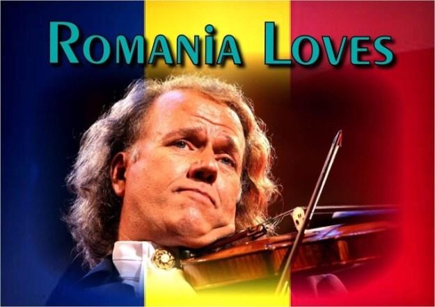 Jubileumconcert André Rieu met een knipoog naar Roemenen