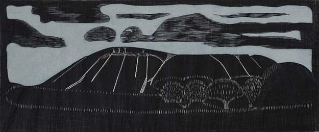 Mezquita een van zijn laatste werken: Landschap Mesquitalandscape