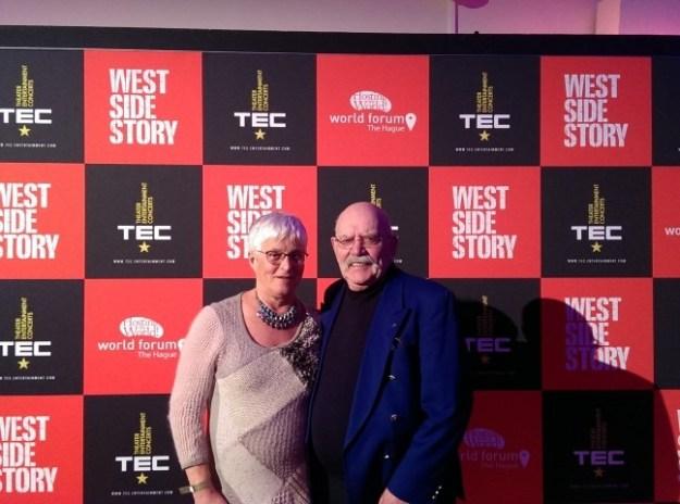 West Side Story; om een recensie te schrijven voor cultuurblogger.nl woonden Peter Lasschuit en ik (Marianne Visser van KLaarwater) op 13 december 2017 de premiere bij in het World Forum van Den Haag