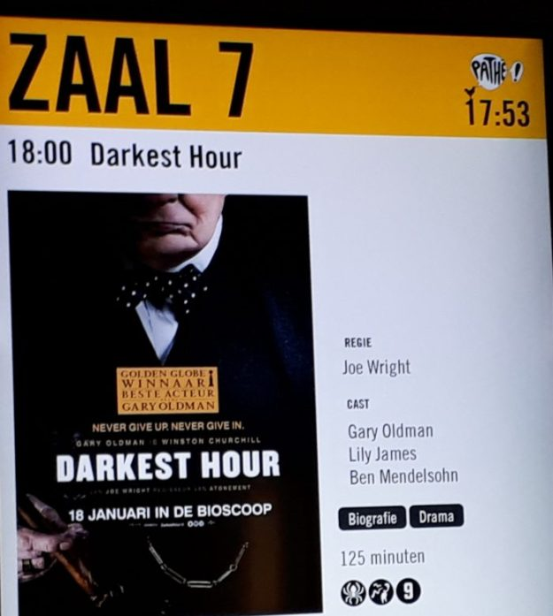 Churchills grootste dilemma verfilmd in Darkest Hour