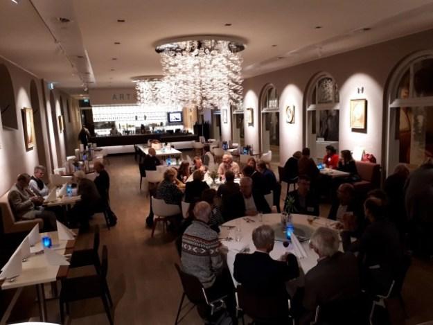 Dordrecht verkenden we op 29 januari met PRET (Promotie Recreatie En Toerisme). Na afloop genoten we in het sfeervolle restaurant van het Dordrechts Museum (Art & Dining) van een pastaschotel. Het was weer gezellig.