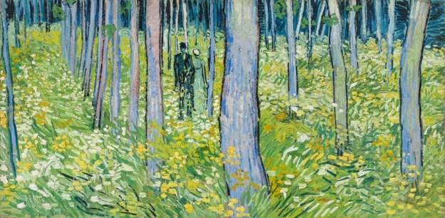 Vincent van Gogh, Kreupelhout met twee figuren, 1890 Cincinnati Art Museum, legaat van Mary E. Johnston, 1967