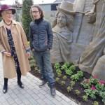 Zandbeeldhouwer Lars Borst en 't Veluws Zandsculpturenfestijn 2018