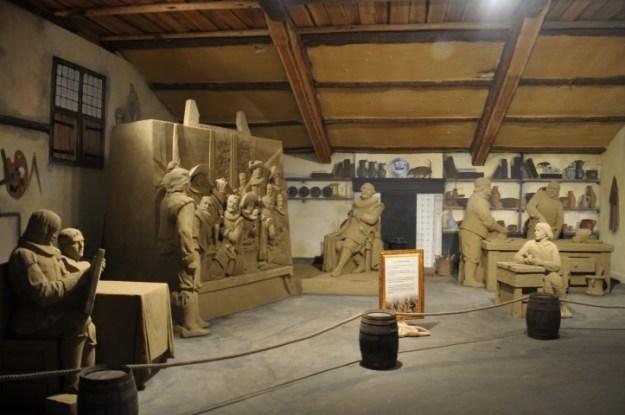 't Veluws Zandsculpturenfestijn 2018, schildersatelier