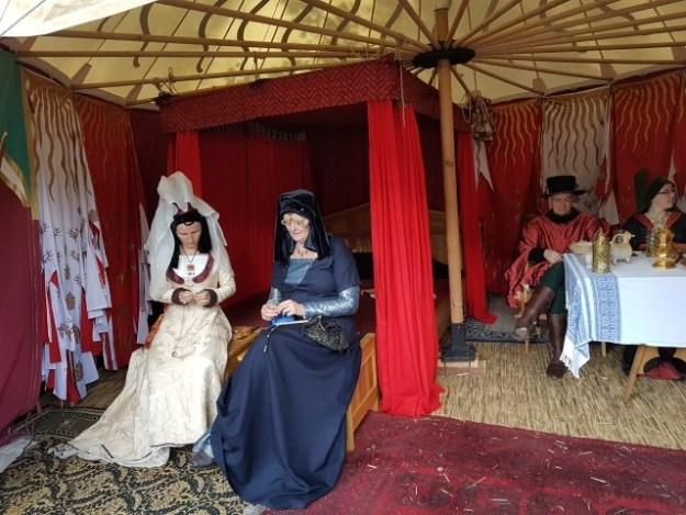 Hollands Historisch Festival; middeleeuws kampement