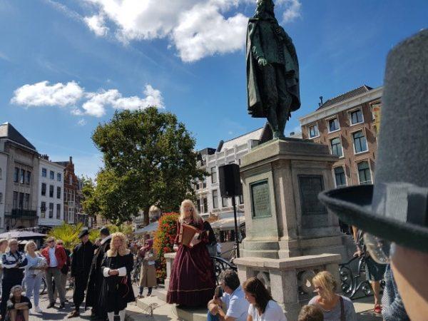 Haagsch Historisch Festijn; Angelique Schipper herdenkt Johan de Witt