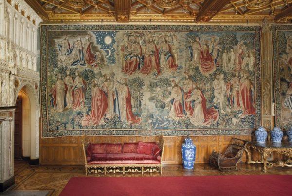 Publiekslievelingen: Drie tapijten van De Verlossing van de Mens, ca. 1500-10, van Pieter van Aelst (van Edingen I, atelier van), collectie Kasteel de Haar