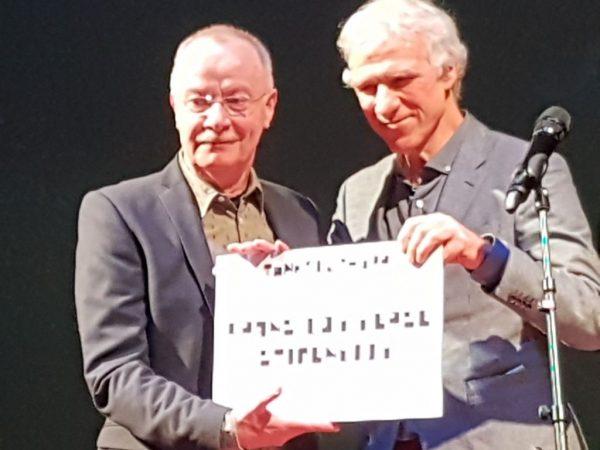 Afscheid van Frans Lommerse, 10 februari 2019, een stipendium van 5000 euro voor jong talent